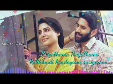 Estamaina Sakhiya || From Majili What's App Status || Male Version || Priyathama Priyathama Song ||