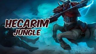 Hecarim Jungle vs Jarvan IV - Challenger - Season 5 - Patch 5.18