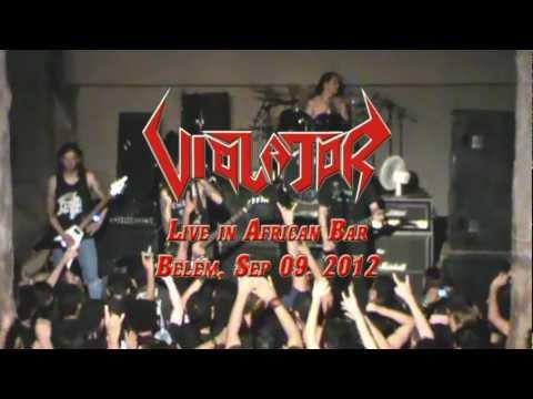 Violator - Show Completo (Live in African Bar, Belém/Pará/Brasil, 09 Setembro 2012) HD