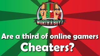 Are one third of on-line gamers using cheats?
