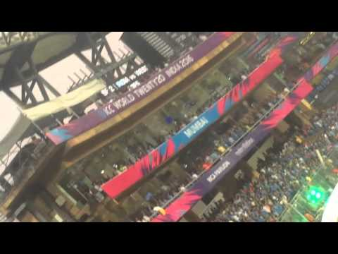 India National Anthem Ceremony at Wankhede Stadium on 31st March 2016 India vs WI T20 world cup 2016