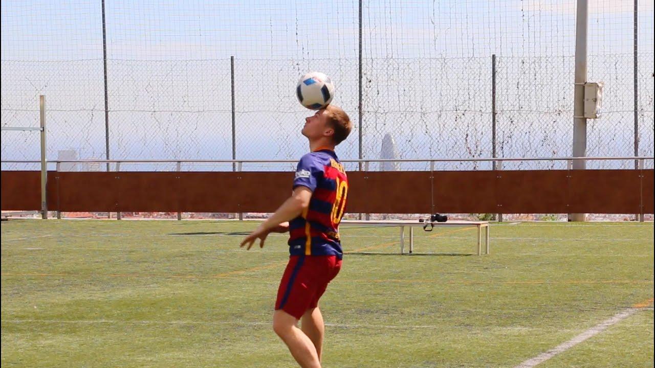 Barcelona Football Skills Trick Shots Andrew Henderson