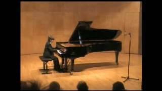 Aaron Kurz: Rondo alla Turca by Mozart at Salle Cortot/ Paris