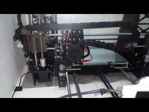 Anet A8 3D Printer with Enclosure and Octoprint Tour Walkthrough