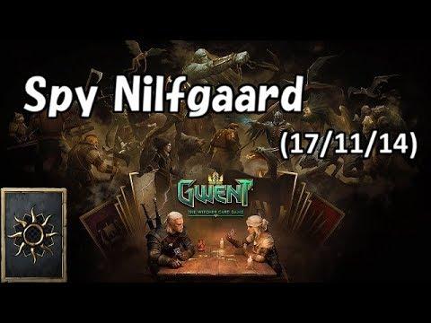 [Gwent] Tier 1 Deck Spy Nilfgaard No Commentary (2017/11/14)