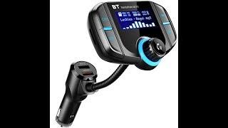 LEHXZJ Bluetooth FM Transmitte…