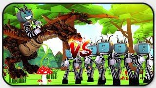 Dragon Element Vs Illusion Element - Roblox Elemental Battlegrounds (Gameplay and Showcase)