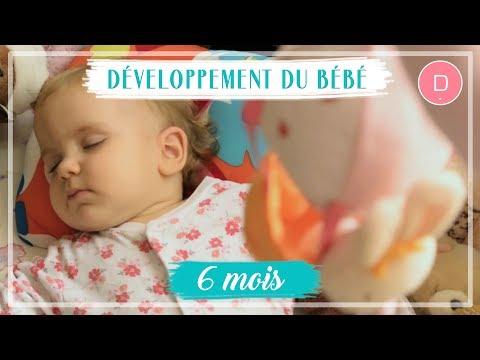 développement-de-bébé---6ème-mois
