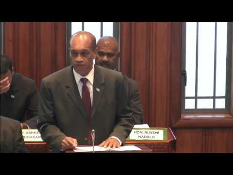 Fijian Minister for Health and Medical services, Hon. Jone Usamate's speech on 2016 Budget