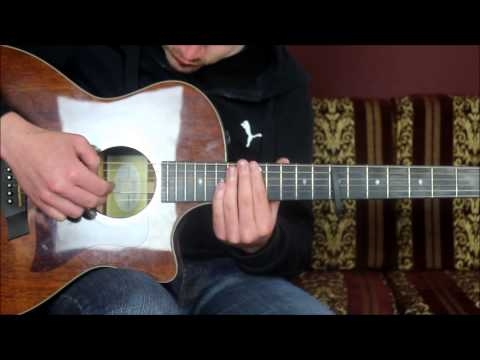 "How To Play ""End of the affair"" By Ben Howard (guitar lesson / tutorial)"
