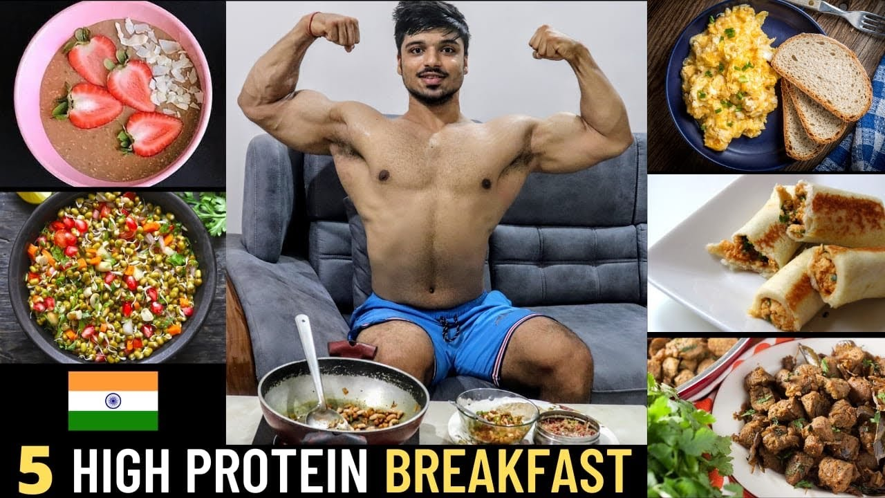 5 High PROTEIN Breakfast Recipe for Muscle Gain and High Testosterone Levels