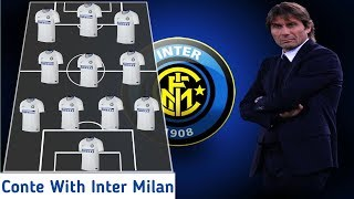 Inter Milan Starting Line Up With Antonio Conte 2019