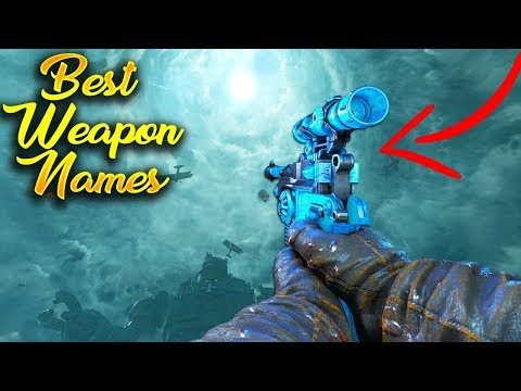 Top 5 Pack-A-Punch Names in Call of Duty Zombies History! (WaW, BO1-BO3, AW, IW and WWII Zombies)