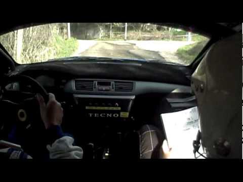 De Pierro P.G.- Pastore S.  Mitsubishi Lancer Evo IX, 2° Test Drive Show Ponte Gara