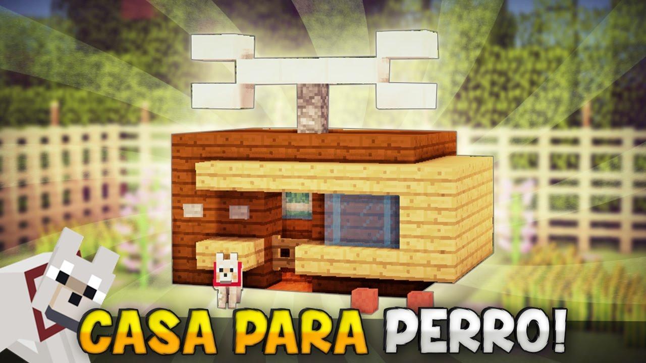 Minecraft como hacer una casa moderna genial para tu for Construir casa de perro