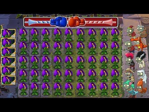 Plants Vs Zombies 2 Batallaz Violeta Reductora Vs Zombiditos