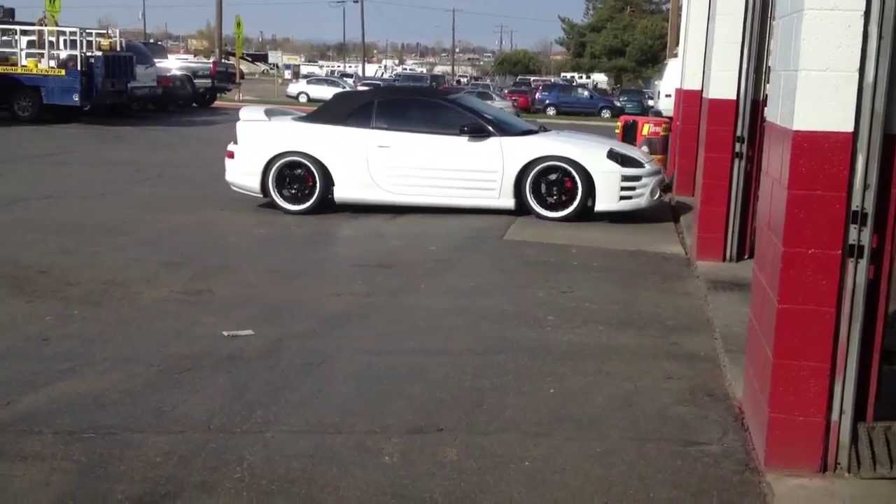 Black Amp White Mitsubishi Eclipse Youtube