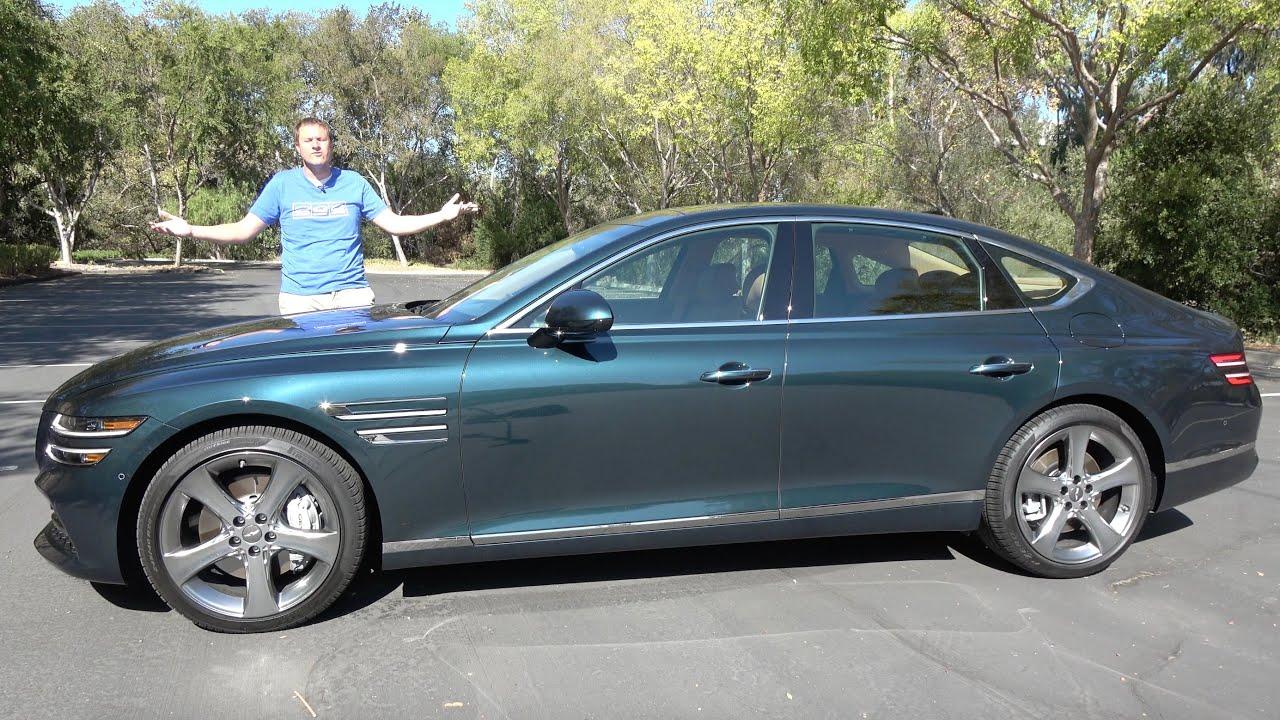 Download The 2021 Genesis G80 Is a Mercedes-Fighting Luxury Sport Sedan
