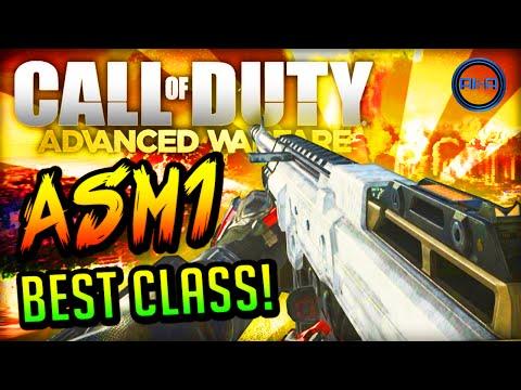 "Advanced Warfare BEST CLASS SETUP - ""ASM1"" (BEAST GUN!) - Call of Duty: Advanced Warfare"