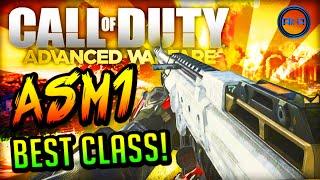 """Advanced Warfare BEST CLASS SETUP - """"ASM1""""! ▻ ALL Best Class videos..."""