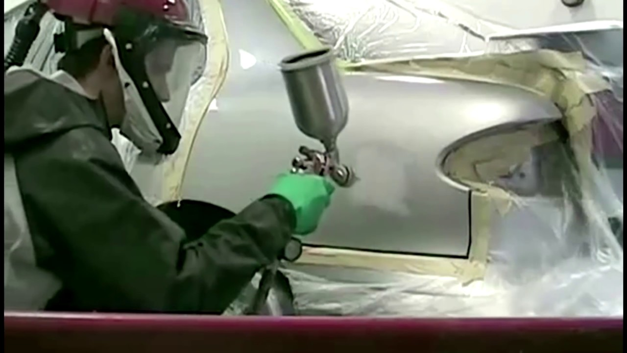 How to paint the car 14