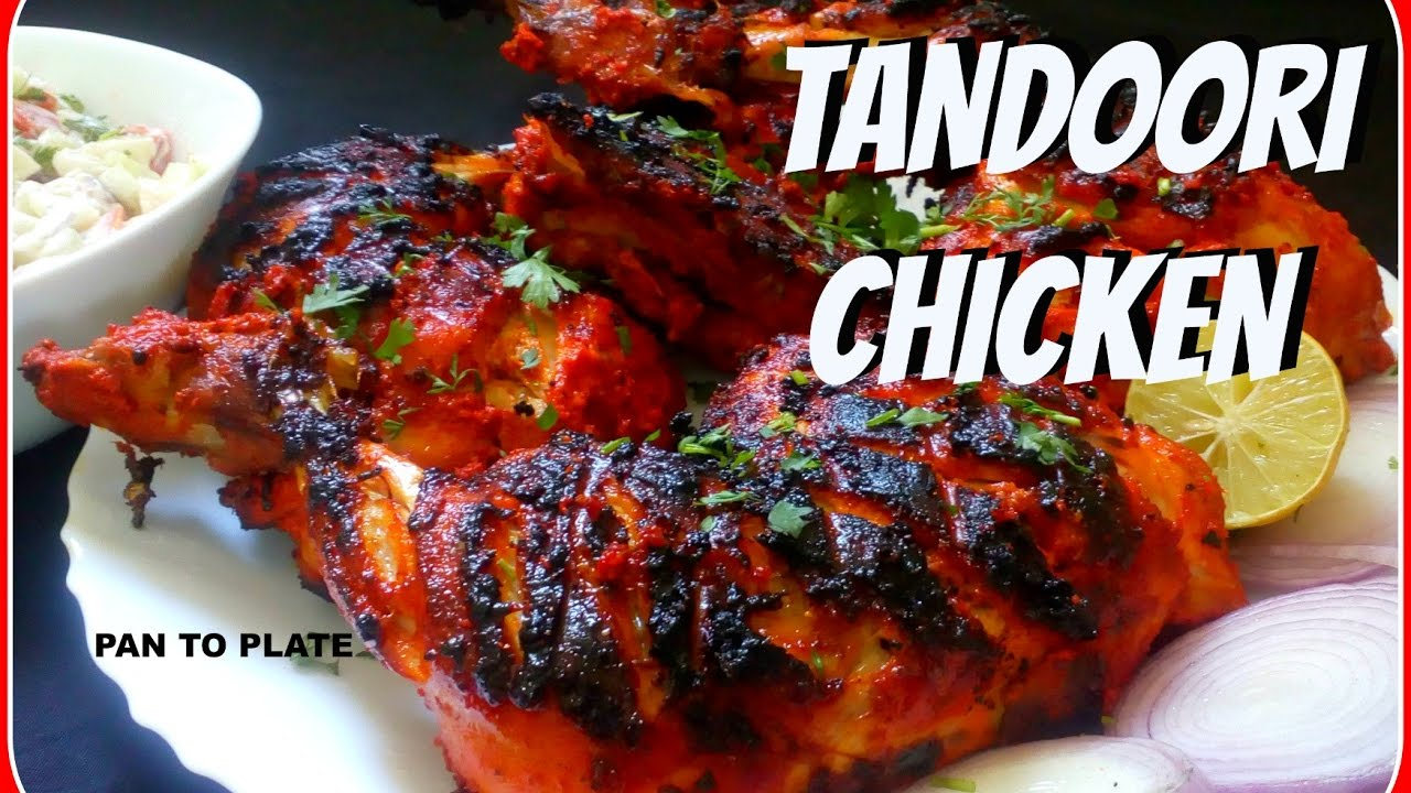 Tandoori Chicken Without Oven | Easy To Make Tandoori Recipe | How to make  tandoori chicken on Coal