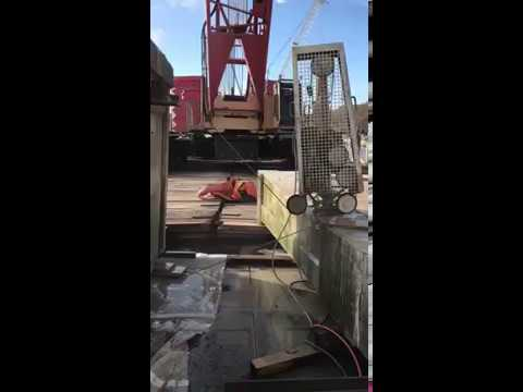 Econ Construction Ltd - Wire Cutting - Thames Tideway