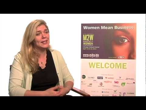 Aliza Freud On Marketing To Women, Interviewed At M2W 2011, Part 1