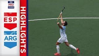 Spain v Argentina   Week 22   Men's FIH Pro League Highlights