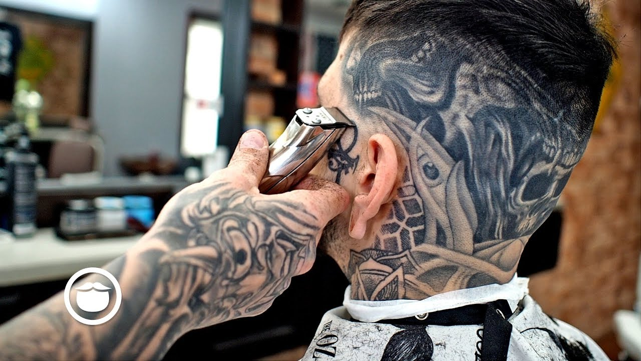 Fresh Skin Fade With Awesome Tattoos