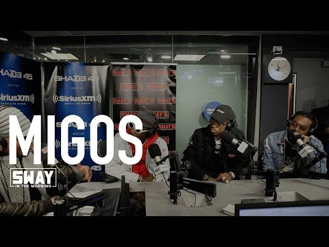 Migos Defend Their Style of Rap + Speak on Solo Work & Freestyle Live on Sway in the Morning