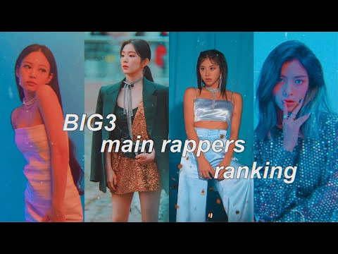 Ranking Main Rappers From Girl Groups In Different Categories (big 3)
