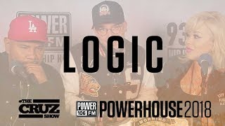 LOGIC Sends Message to Fans, Talks Renting Out AirBnB with Kyle and Creating His Own Strain of Weed!