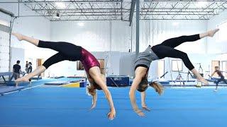 Twin VS Twin Gymnastics Challenge!