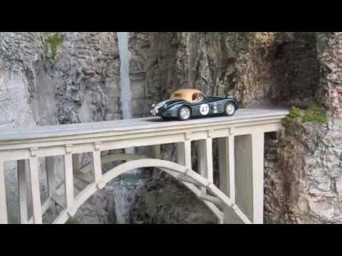 """Building the """"Mitchell Point Tunnel"""" Slot Car Track"""