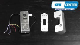 Комплект цветного видеодомофона  CTV DP4101 AHD(, 2017-09-28T11:06:46.000Z)