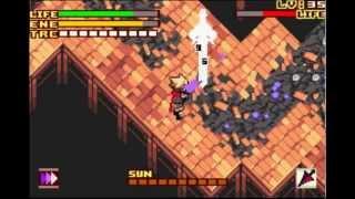 Boktai 3 - Sword - Treasure Room Miniboss Fight