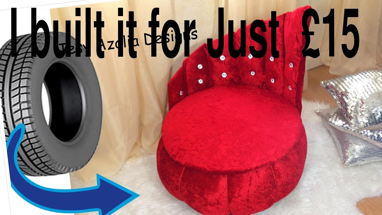 How To Recycle My Sofa Bed Hacks Glamorous Upholstered Ottoman From Tyre Creative Way Reuse And