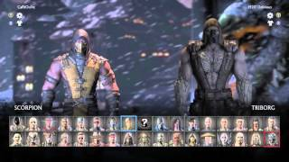 vuclip Mortal Kombat X - Ep 20 (Triborg Unleashed!!!!) Battle Bots!  22:47