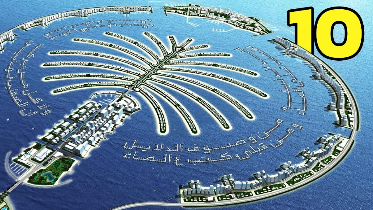 10 อันดับ เกาะที่ไม่ได้เกิดขึ้นเองตามธรรมชาติ แต่มนุษย์เป็นผู้สร้างขึ้นมา!!