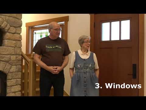 Touring a Unique Solar Renewable Energy Home