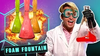 EPIC FOAM FOUNTAIN (Smosh Lab)