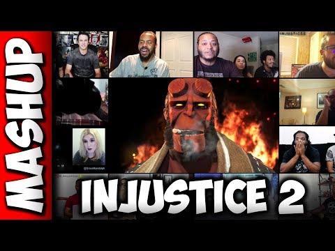 Injustice 2 HELLBOY Fighter Pack 2 Trailer Reaction Mashup