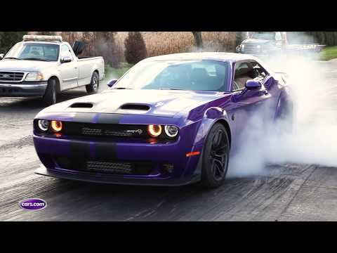 2019 Dodge Challenger SRT Hellcat Redeye: Drag-Strip Tested — Cars.com