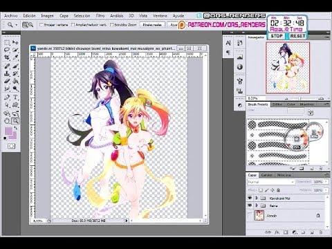 Musaigen no Phantom World:Mai+Reina Kawaii Ruru Cosplay HD Render