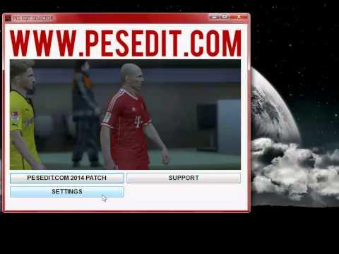 Comment installer patch pesedit 2013