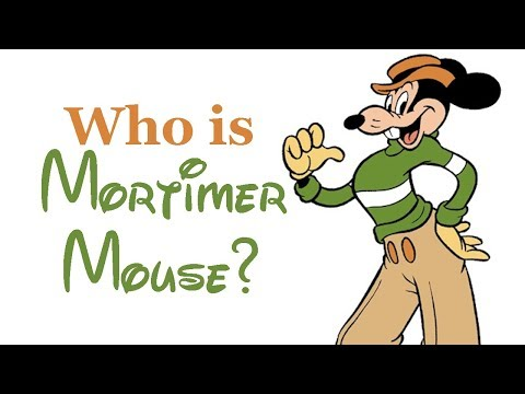 Who Is Mortimer Mouse? Mickey's Rival
