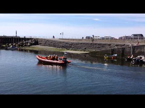 Aberystwyth - Marina & Harbour, August 8th, 2015. Video 2 of 2.