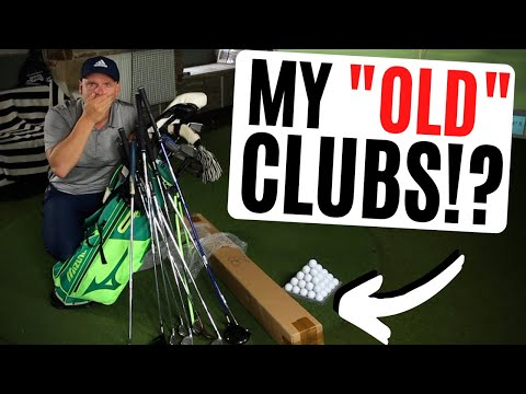 I BOUGHT MY OLD GOLF CLUBS BACK... AND THEY'RE AMAZING!