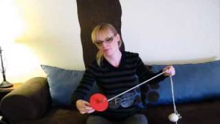 Repeat youtube video Plying Two Single Yarns on a Drop Spindle - Spinning Tutorial
